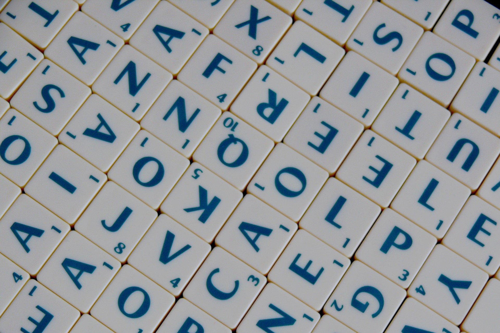 Scrabble letters pictured. | Source: Pixabay.