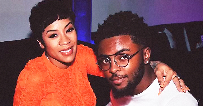 Pregnant Keyshia Cole Glows in Orange at BET Awards After-Party with Beau Niko Hale