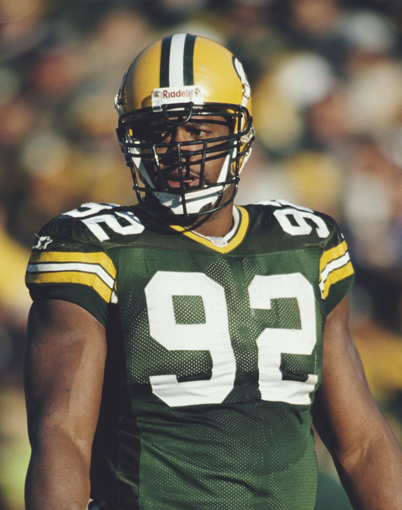 Reggie White #92 during the National Football Conference Central game against the Detroit Lions on 3 November 1996 at Lambeau Field, Green Bay, Wisconsin, United States. | Source: Getty Images