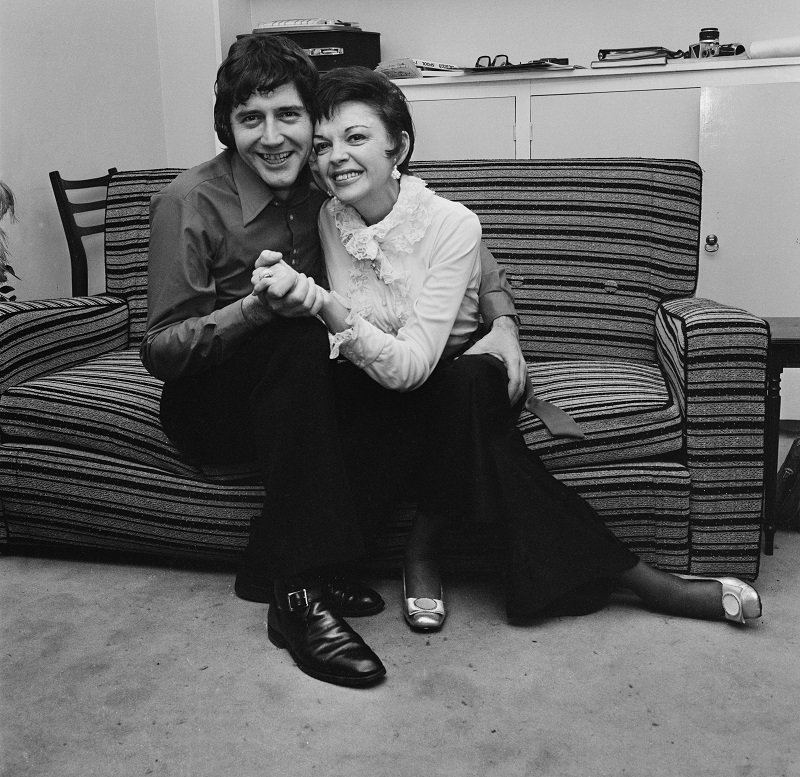 Judy Garland and Mickey Deans in London on March 15, 1969   Photo: Getty Images