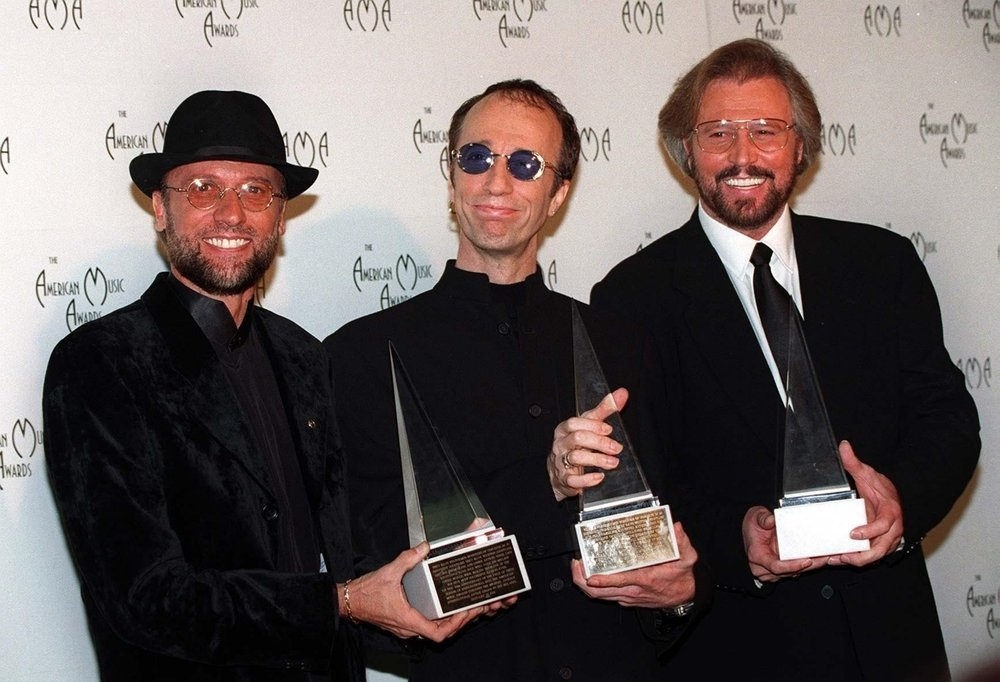 Pop group The BEE GEES at the American Music Awards in Los Angeles | Photo: Featureflash Photo Agency / Shutterstock.com