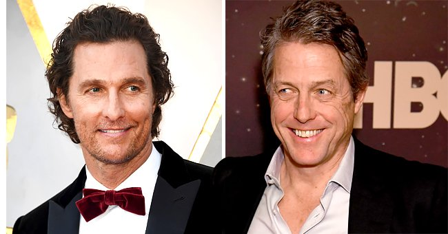 Matthew McConaughey Reveals His Mom Is Going on a Date with 'The Gentlemen' Costar Hugh Grant's Dad