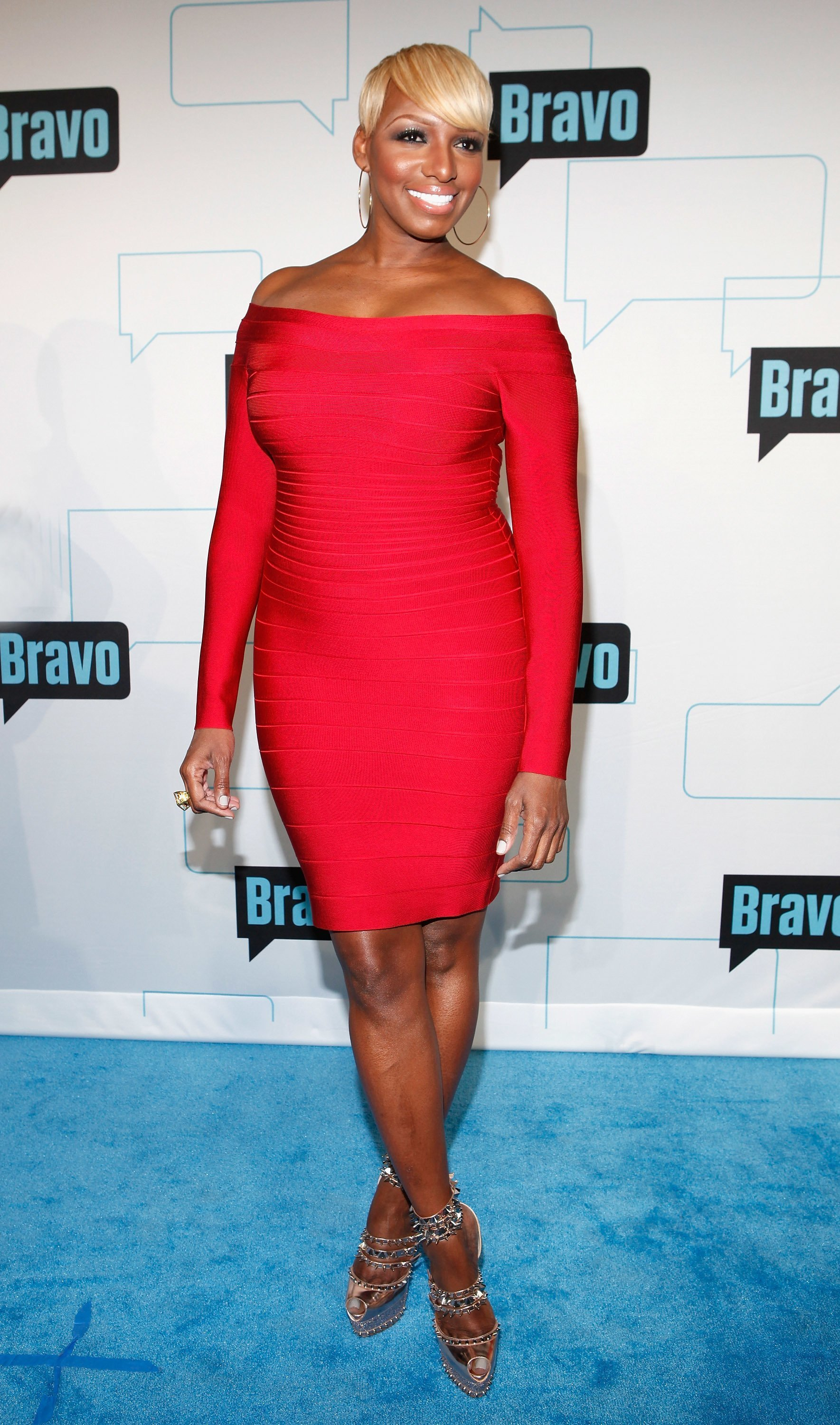 Nene Leakes attends the Bravo Upfront 2012. | Source: Getty Images