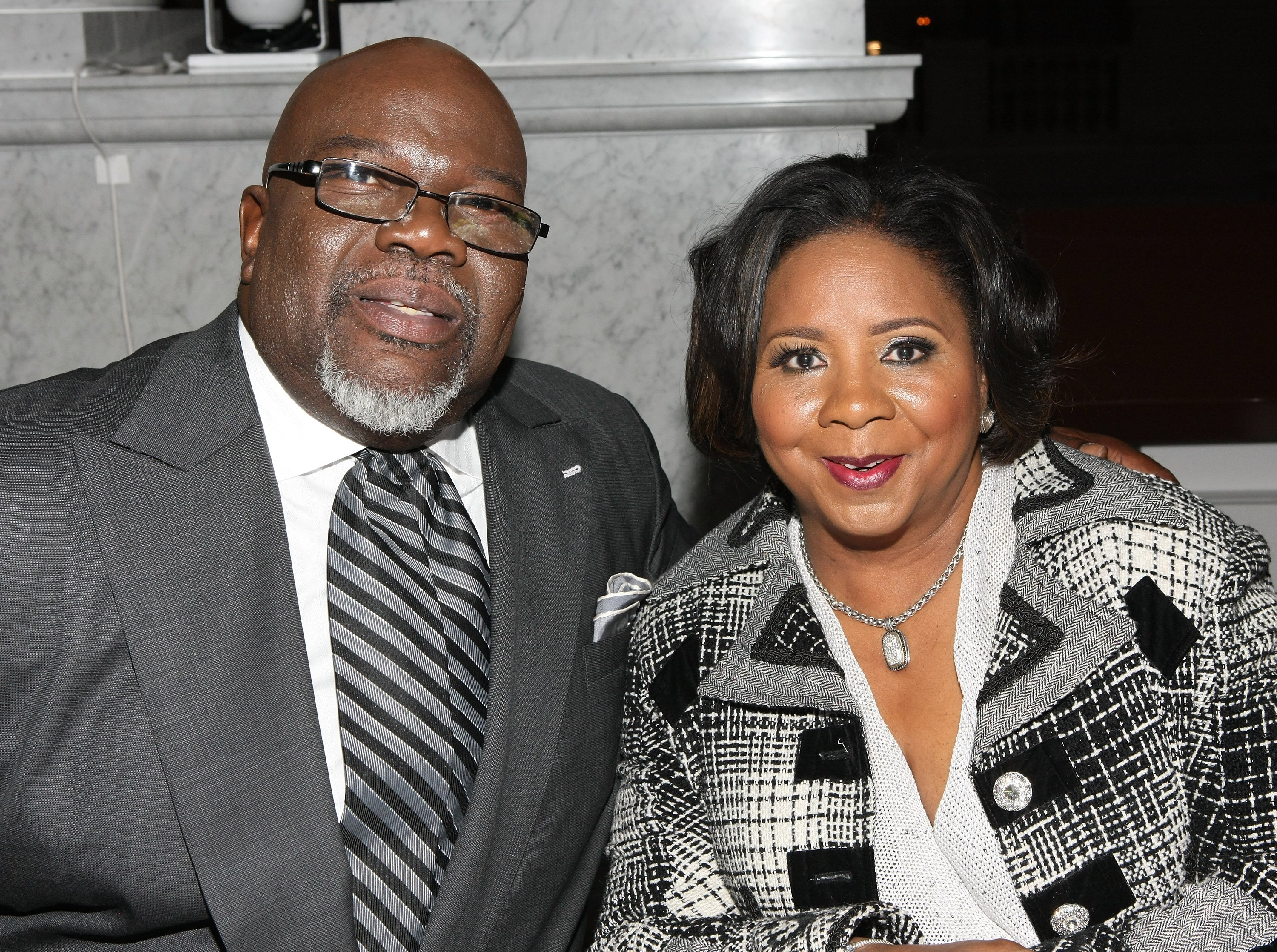 Bishop T. D. Jakes and his wife Serita Jakes at the BET Honors 2013 in Washington, DC | Source: Getty Images