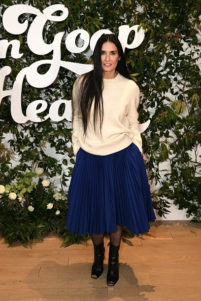 Demi Moore attends the In goop Health Summit New York 2019 at Seaport District NYC in New York City | Photo: Getty Images