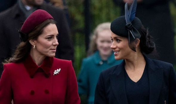 Kate Middleton und Meghan Markle | Quelle: Getty/GlobalImagesUkraine