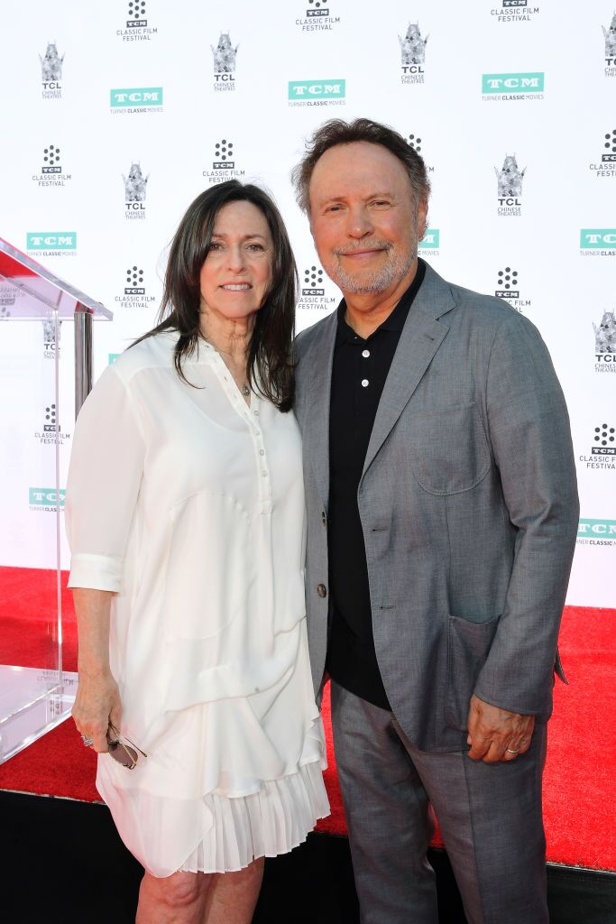 Special Guests Janice Crystal and Billy Crystal attend the Hand and Footprint Ceremony: Billy Crystal at the 2019 10th Annual TCM Classic Film Festival  | Getty Images