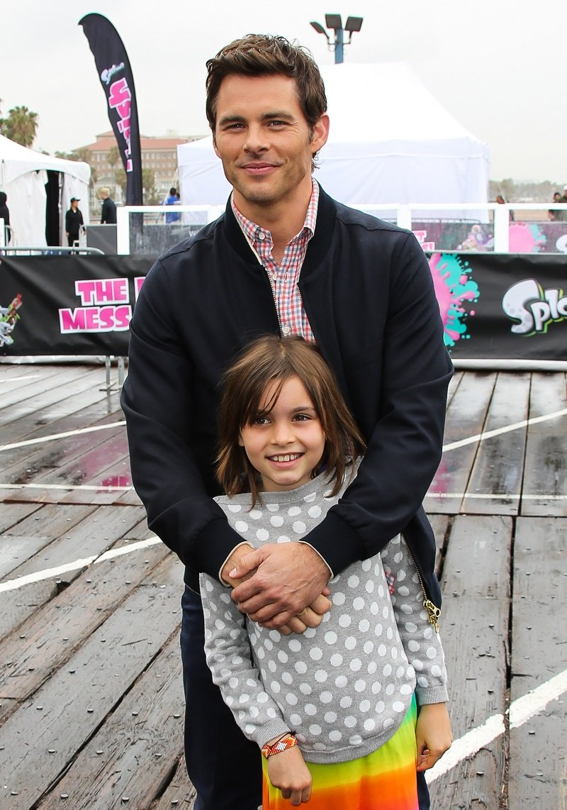 James Marsden with his daughter Mary Marsden on May 15, 2015 in Santa Monica, California | Photo: Getty Images