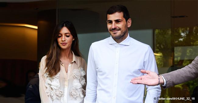 Iker Casillas sale del hospital con Sara Carbonero luego de sufrir un infarto