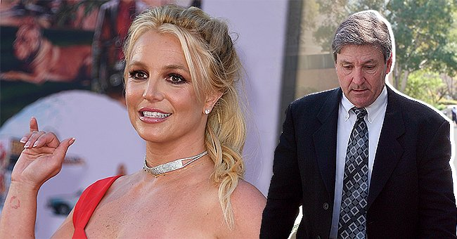 Britney Spears (left) and her father Jamie Spears (right) | Photo: Getty Images