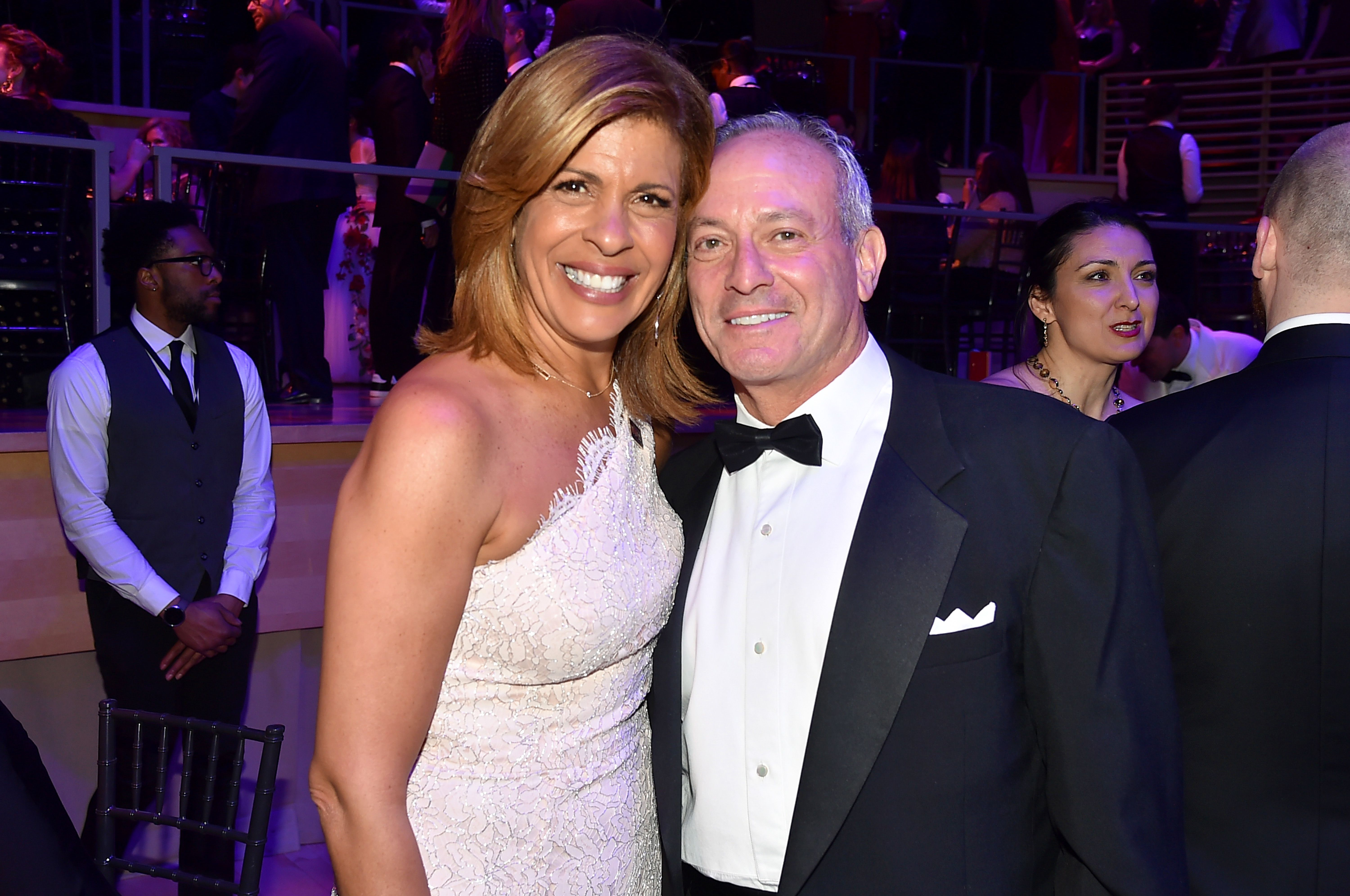 Hoda Kotband Joel Schiffman atthe TIME 100 Gala at Jazz at Lincoln Center on April 24, 2018 in New York City | Photo:Patrick McMullan/Getty Images