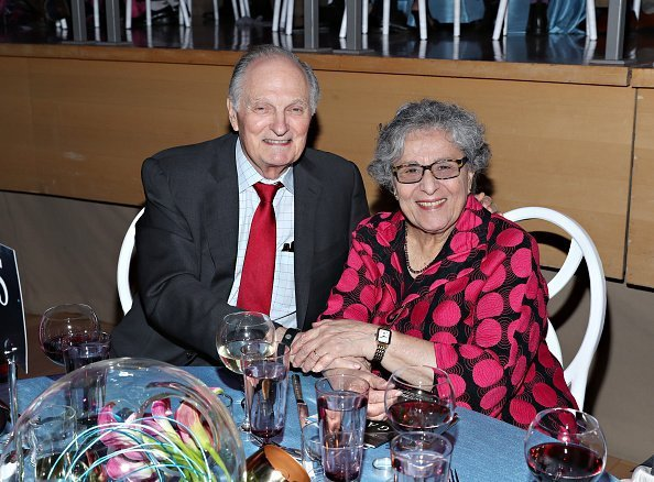 Alan Alda and Arlene Alda at Jazz at Lincoln Center on May 22, 2019 in New York City | Photo: Getty Images