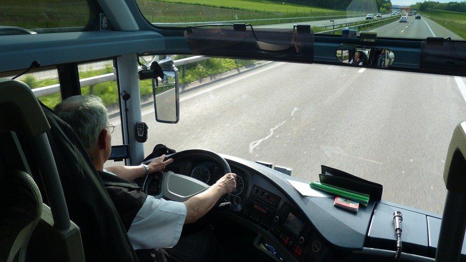 Un chauffeur au volant. | Photo : Pixabay