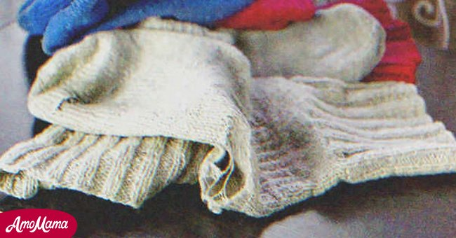 Grandfather's old sock became a magic gift | Source: Shutterstock.com