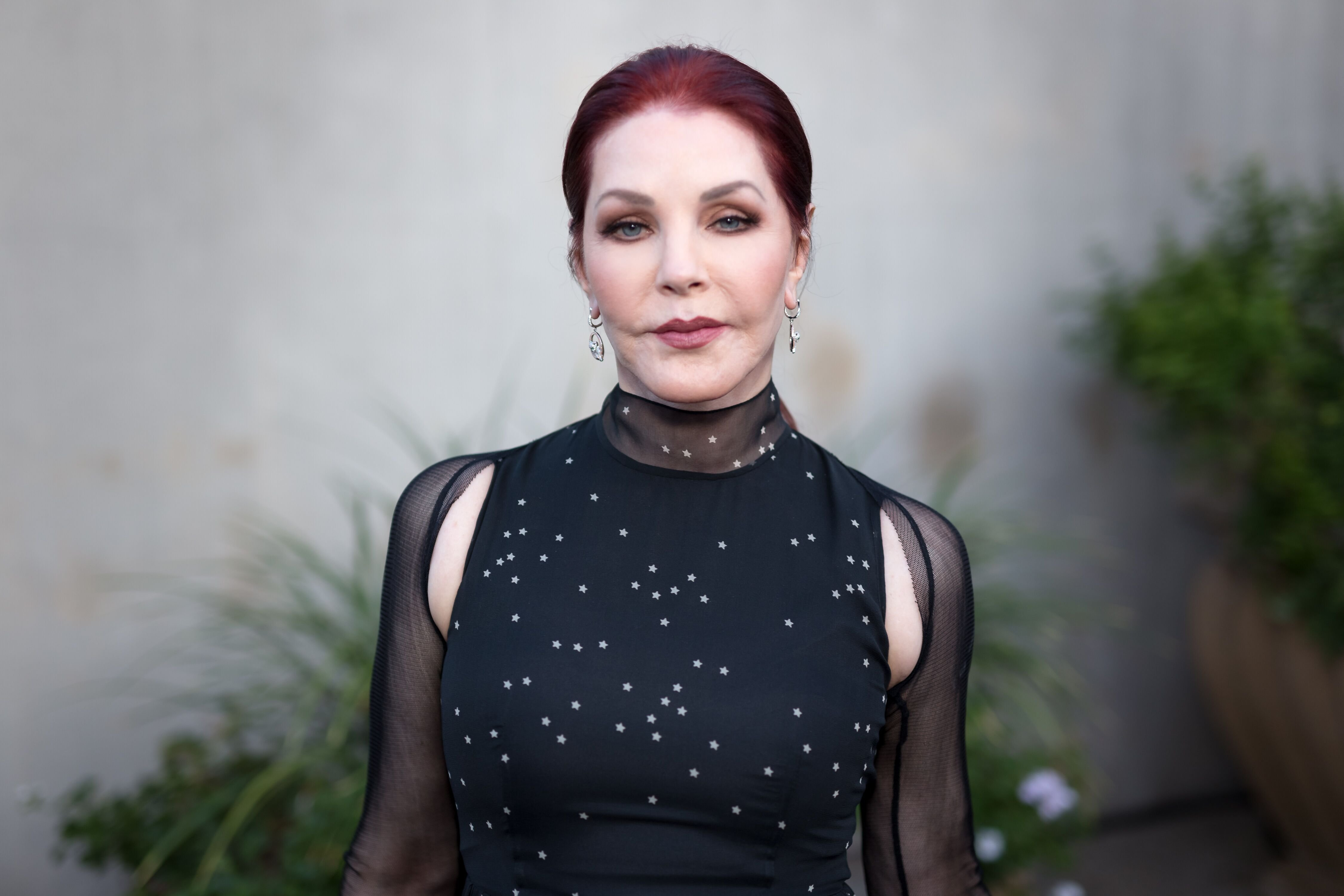 Actress Priscilla Presley arrives for the Annual Brent Shapiro Foundation For Alcohol And Drug Prevention Summer Spectacular at a Private Residence | Photo: Getty Images