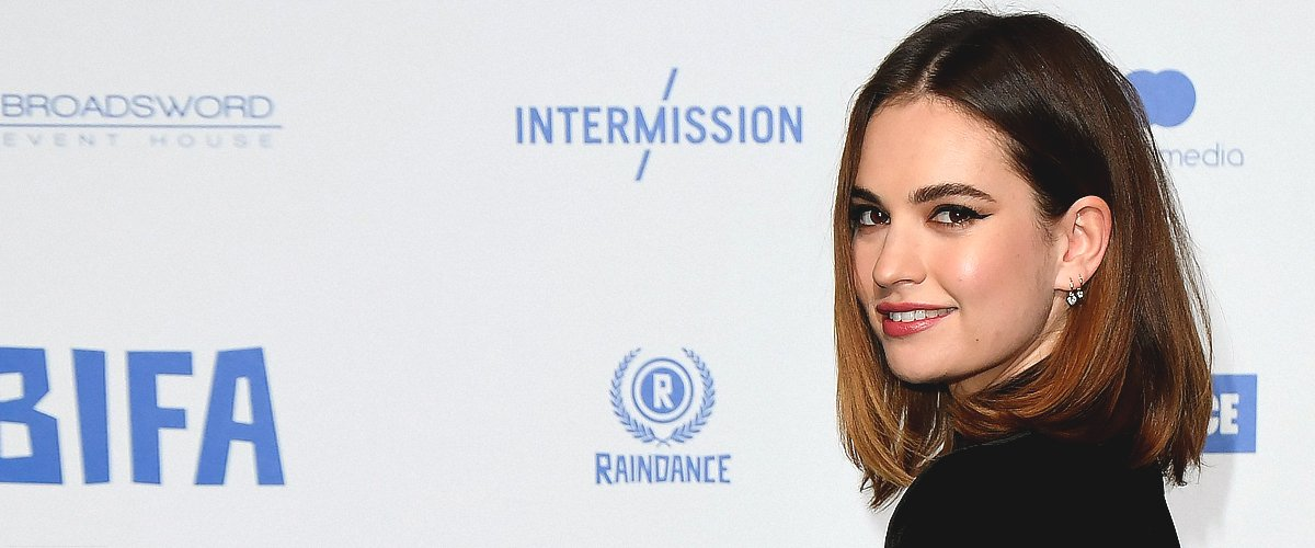 Lily James Once Played Cinderella and Was Spotted with Chris Evans — Facts about the Actress