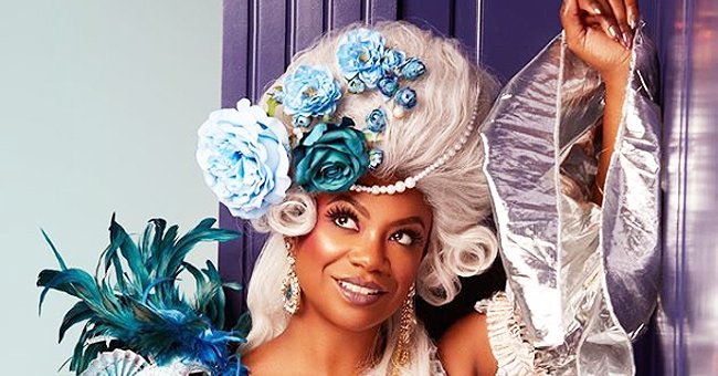 Kandi Burruss Channels Marie Antoinette in a New Vintage-Styled Photo