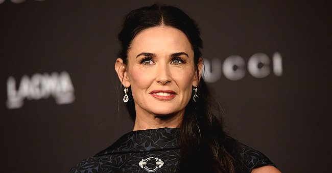Demi Moore Looks Unrecognizable in New Selfie as She Urges Fans to Wear Masks