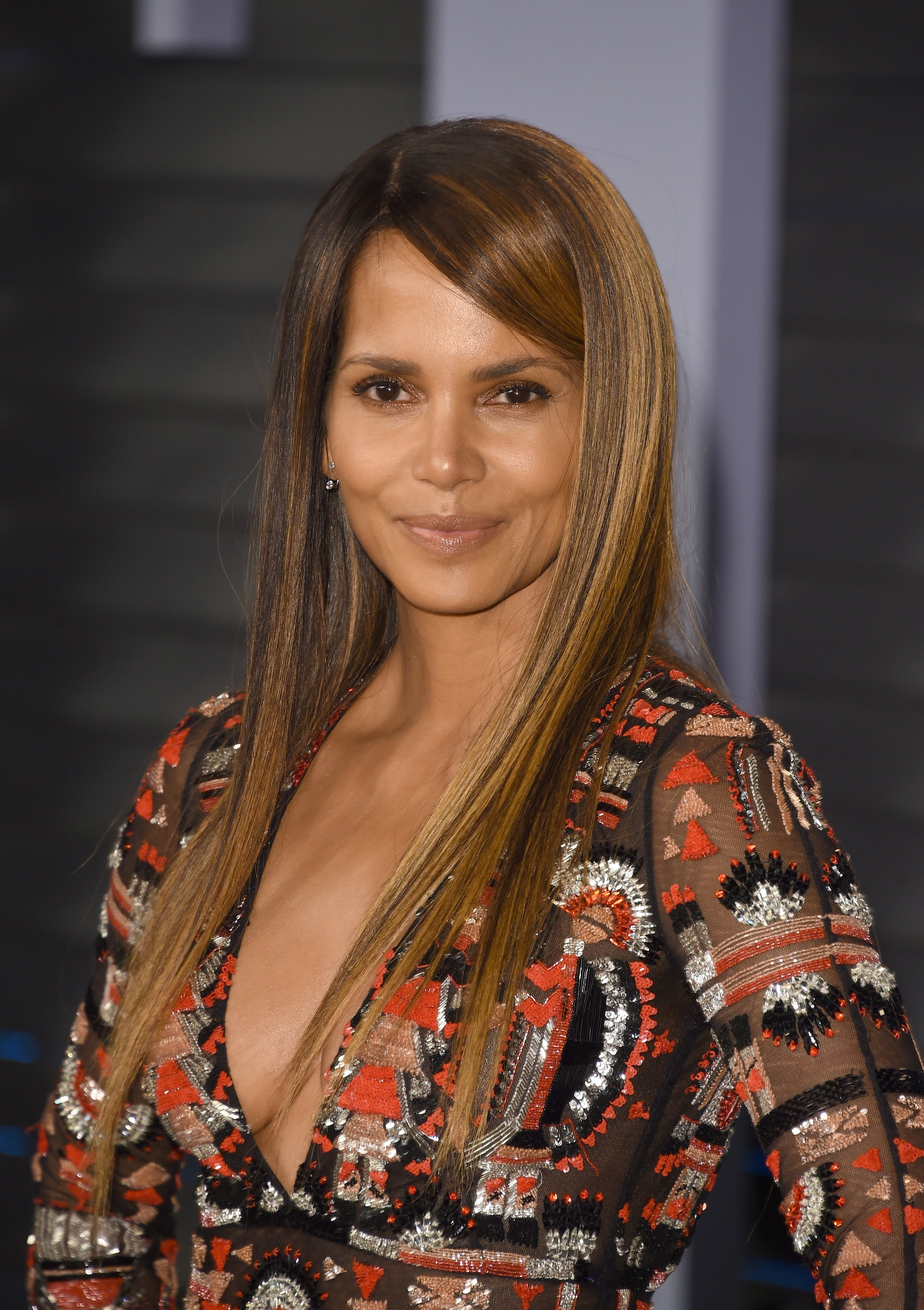 Halle Berry at the 2018 Vanity Fair Oscar Party in Beverly Hills, California   Source: Getty Images