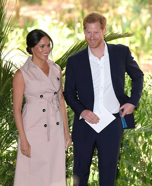 Meghan, Duchess of Sussex and Prince Harry, Duke of Sussex attend a reception to celebrate the UK and South Africa's important business and investment relationship | Photo: Getty Images