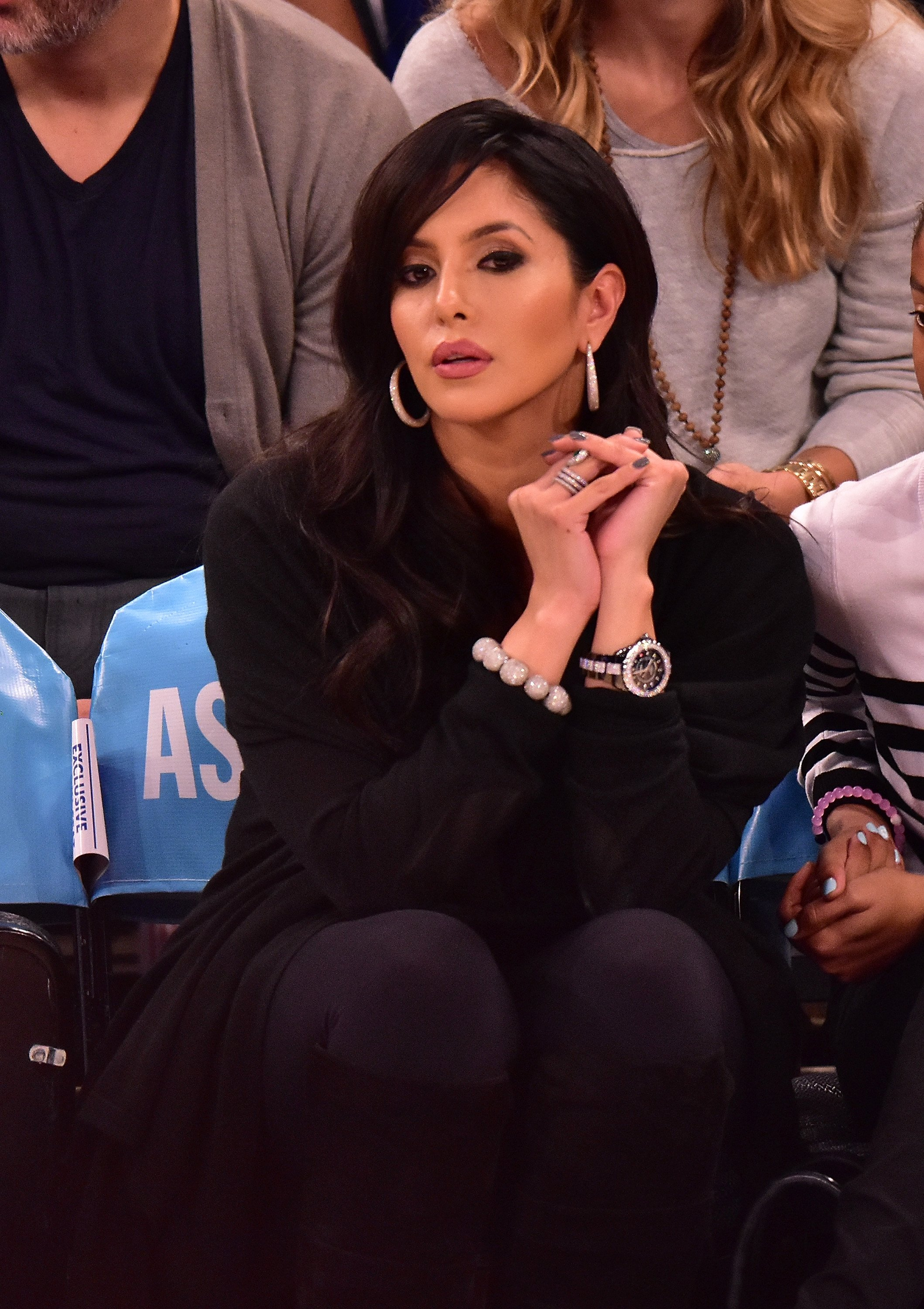 Vanessa Bryant attends a New York Knicks vs Los Angeles Lakers game at Madison Square Garden on November 8, 2015 in New York City.   Source: Getty Images
