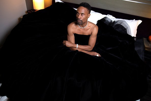Billy Porter preparing for the after parties after the 91st Academy Awards in Hollywood, California | Photo: Getty Images