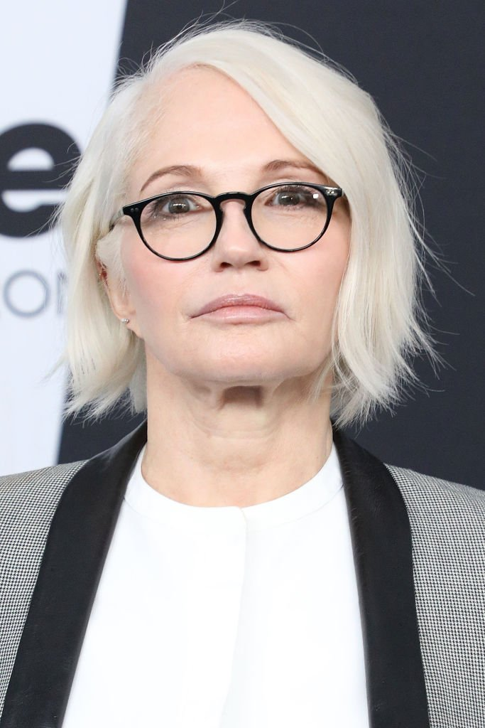 Ellen Barkin attends the 2018 Turner Upfront at One Penn Plaza on May 16, 2018   Photo: Getty Images