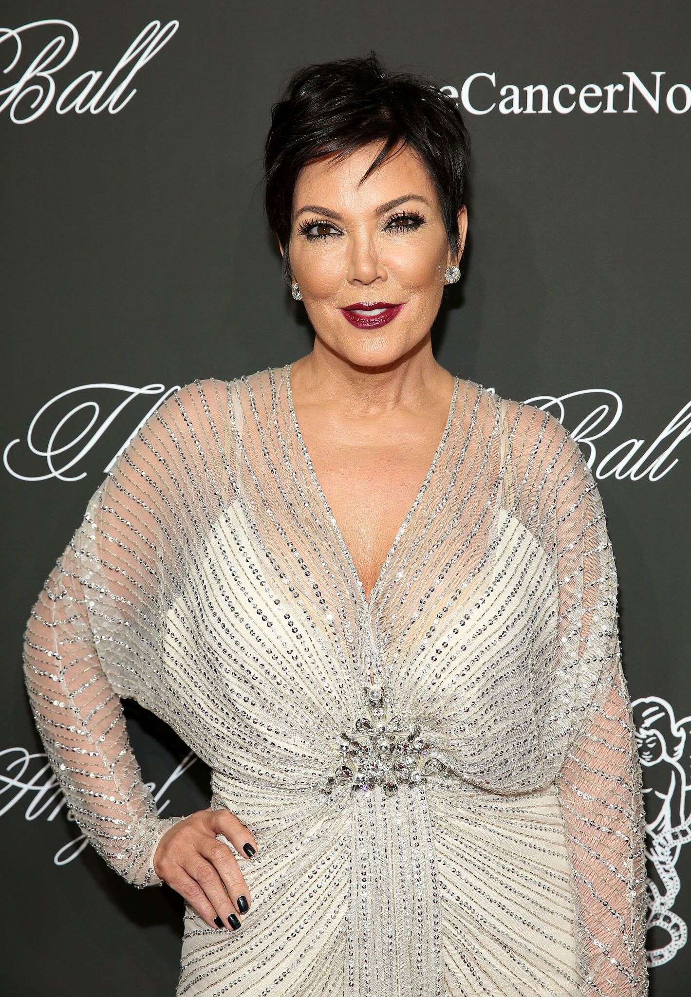 Kris Jenner attends Angel Ball 2014 at Cipriani Wall Street | Getty Images