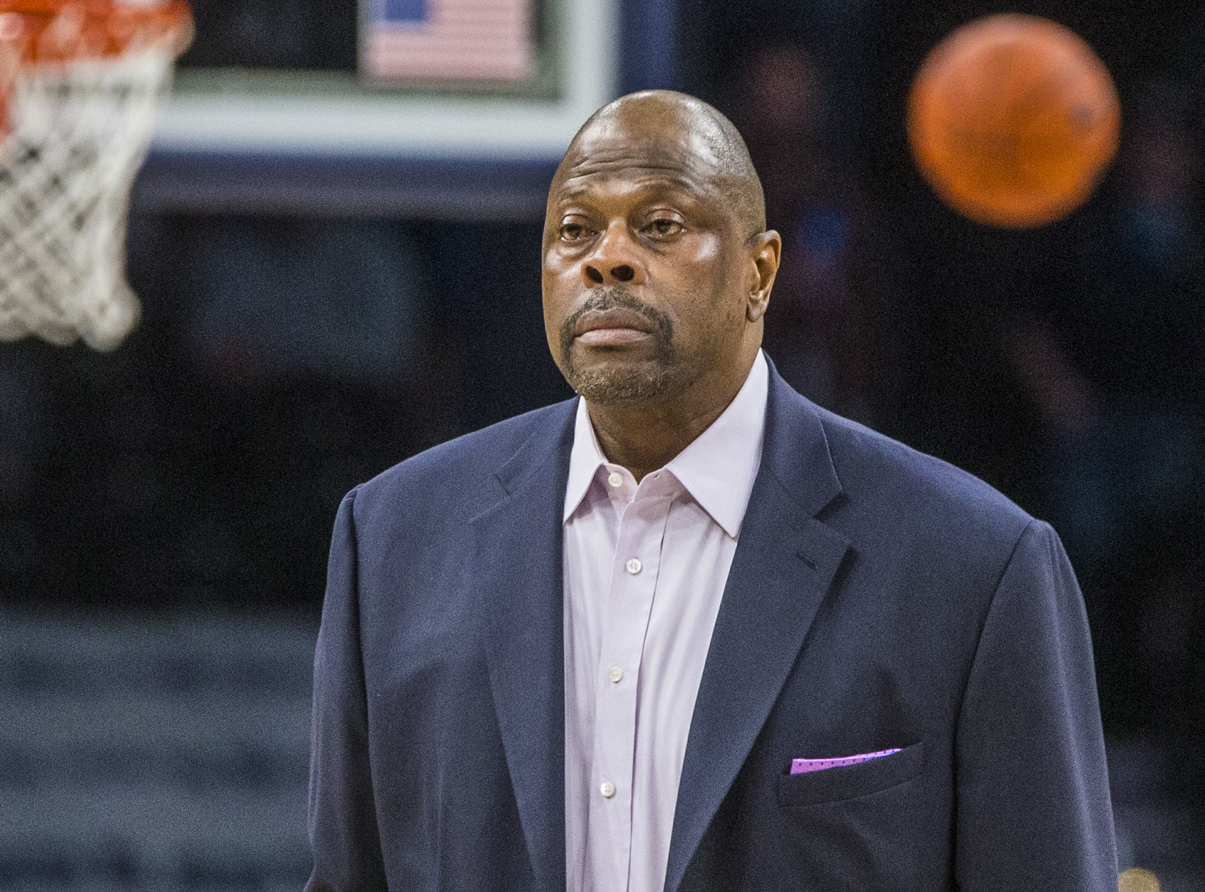 Patrick Ewing head during a game between Butler and Georgetown at Capital One Arena on January 28, 2020 in Washington, DC | Photo: GettyImages