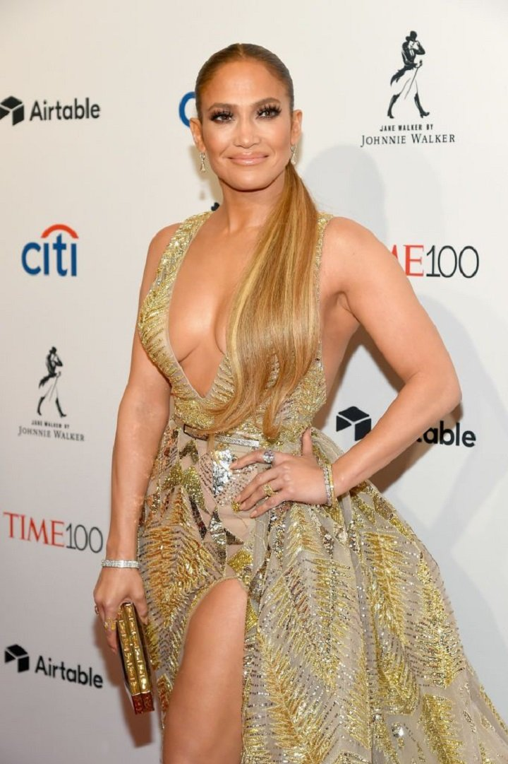 Jennifer Lopez attending the 2018 Time 100 Gala at Jazz at Lincoln Center in New York City in April 2018.  | Image: Getty Images.