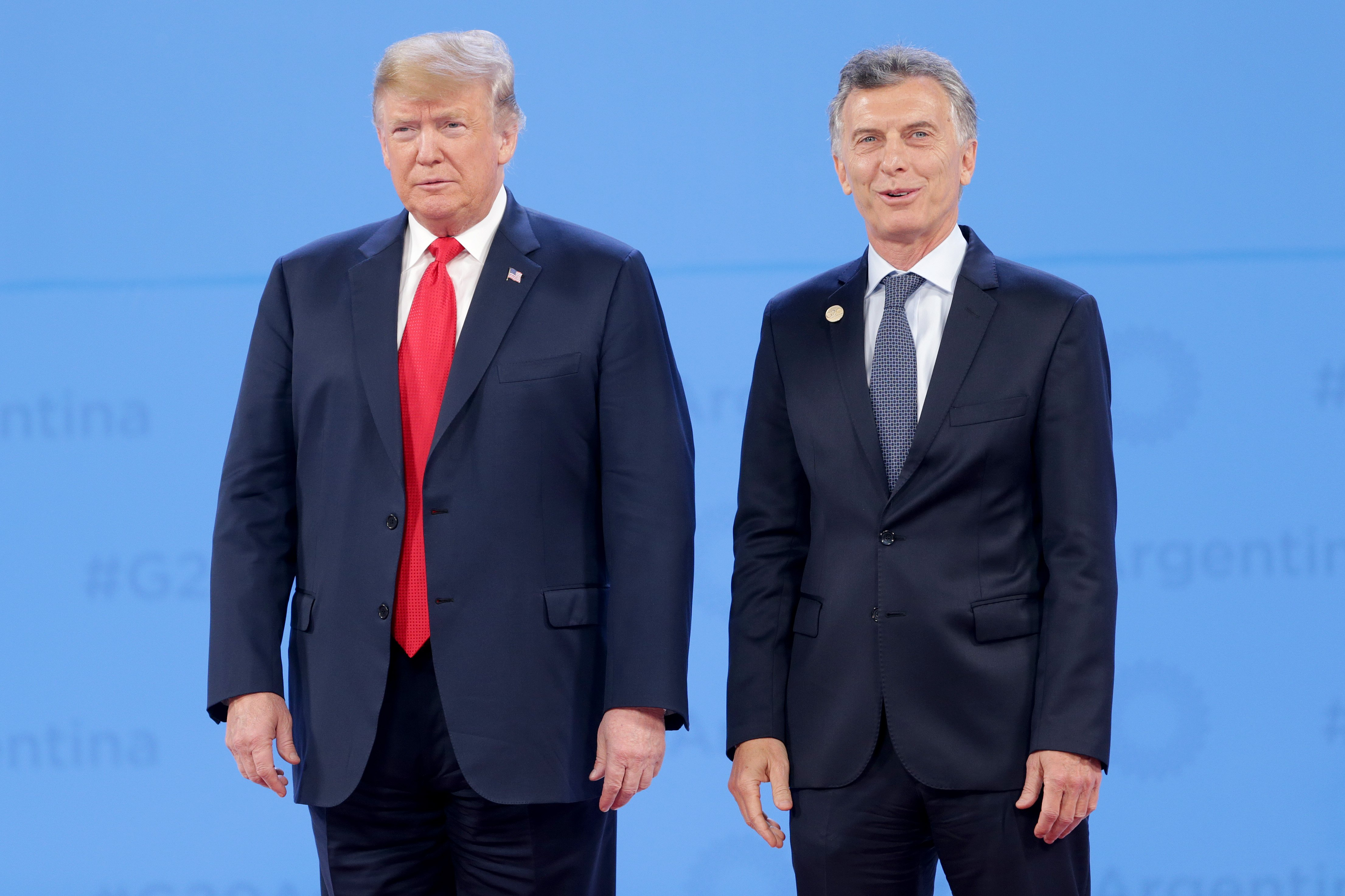 U.S. President Donald Trump and President of Argentina Mauricio Macri at the 2018 G20 Summit in Buenos Aires | Photo: Getty Images
