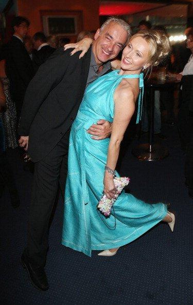 Dana Golombek und Christoph M. Ohrt, After-Party Goldene Henne, 2012, Berlin | Quelle: Getty Images