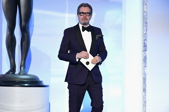 Gary Oldman onstage during the 25th Annual Screen ActorsGuild Awards   Photo: Getty Images