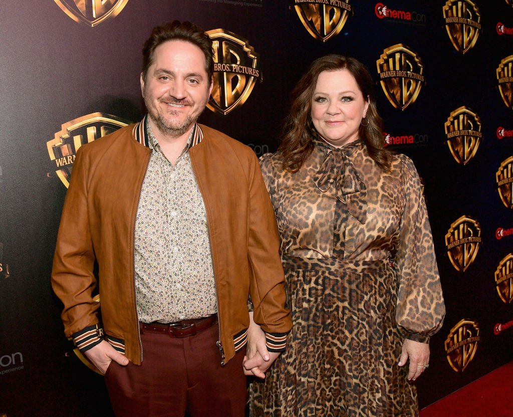 "Ben Falcone and Melissa McCarthy attend CinemaCon 2019 Warner Bros. Pictures Invites You to ""The Big Picture"", an Exclusive Presentation of its Upcoming Slate at The Colosseum at Caesars Palace during CinemaCon, the official convention of the National Association of Theatre Owners 