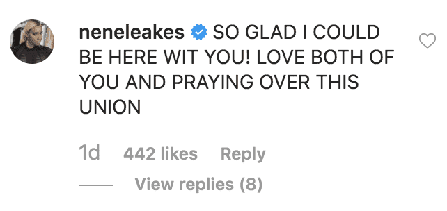 Nene Leakes congratulates Sabrina Parr on her engagement to Lamar Odom | Source: instagram.com/getuptoparr
