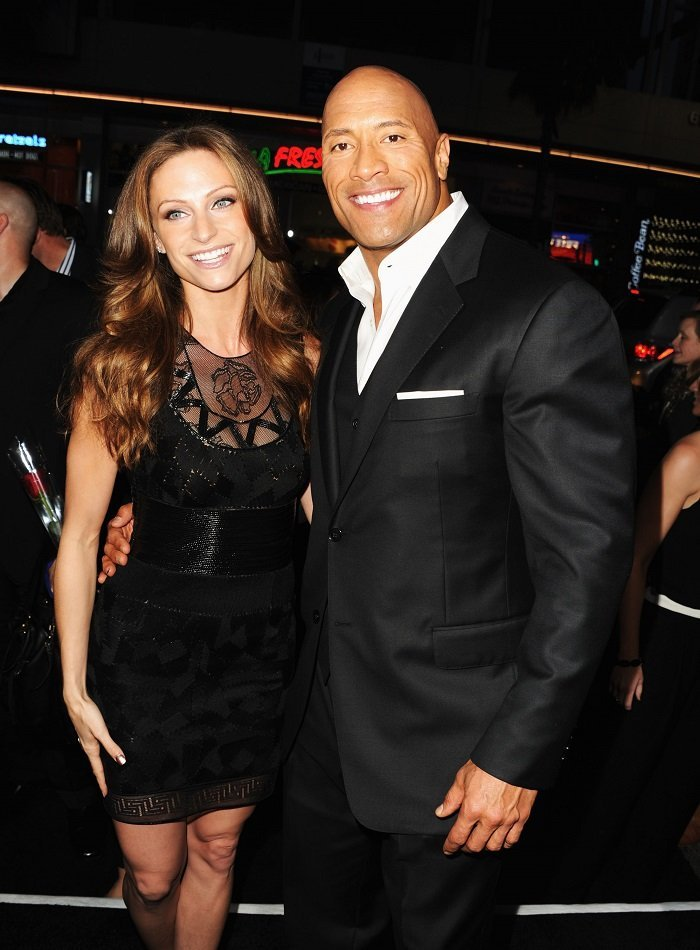 "Dwayne ""The Rock"" Johnson and Lauren Hashian at TCL Chinese Theatre on March 28, 2013 in Hollywood, California 
