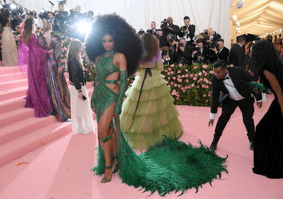Ciara attends the 2019 Met Gala at Metropolitan Museum of Art on May 06, 2019. | Photo: Getty Images