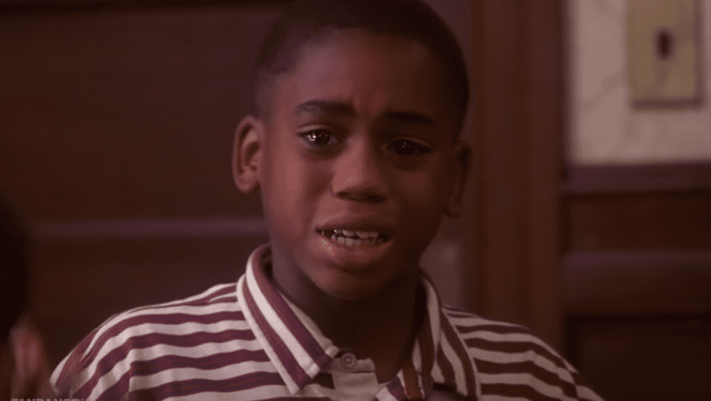 """A picture of Bandon Hammond as a child actor on """"Soul Food""""   Photo: Youtube/movieclips"""