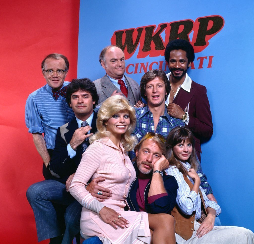 "Cast of ""WKRP in Cincinnati"" in 1978 
