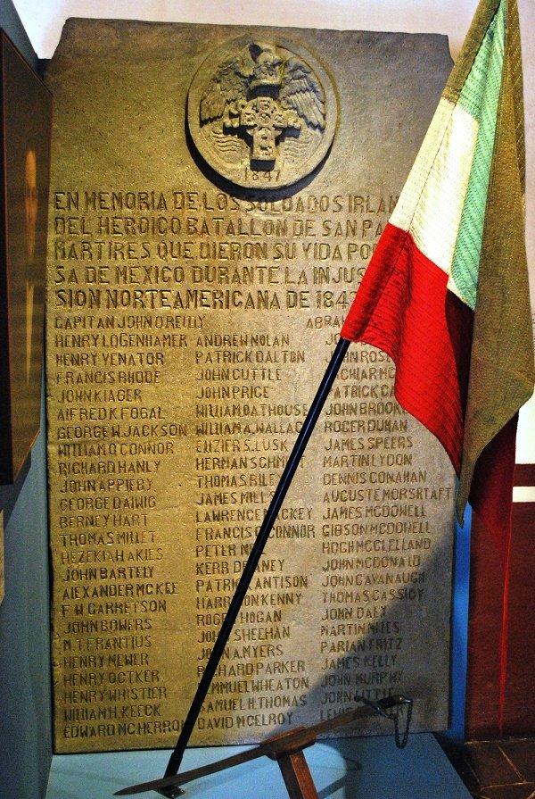 12 de septiembre se conmemora la gesta heroica de Batallón de San Patricio en 1847.| Fuente: Wikipedia