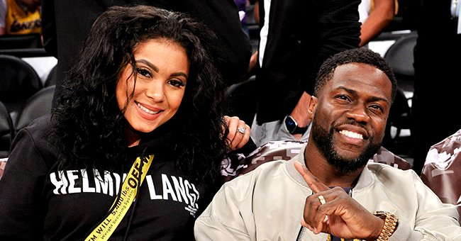 Kevin Hart Shares Candid Pic of Wife Eniko Lounging on a Couch with Her Baby Bump on Full Display
