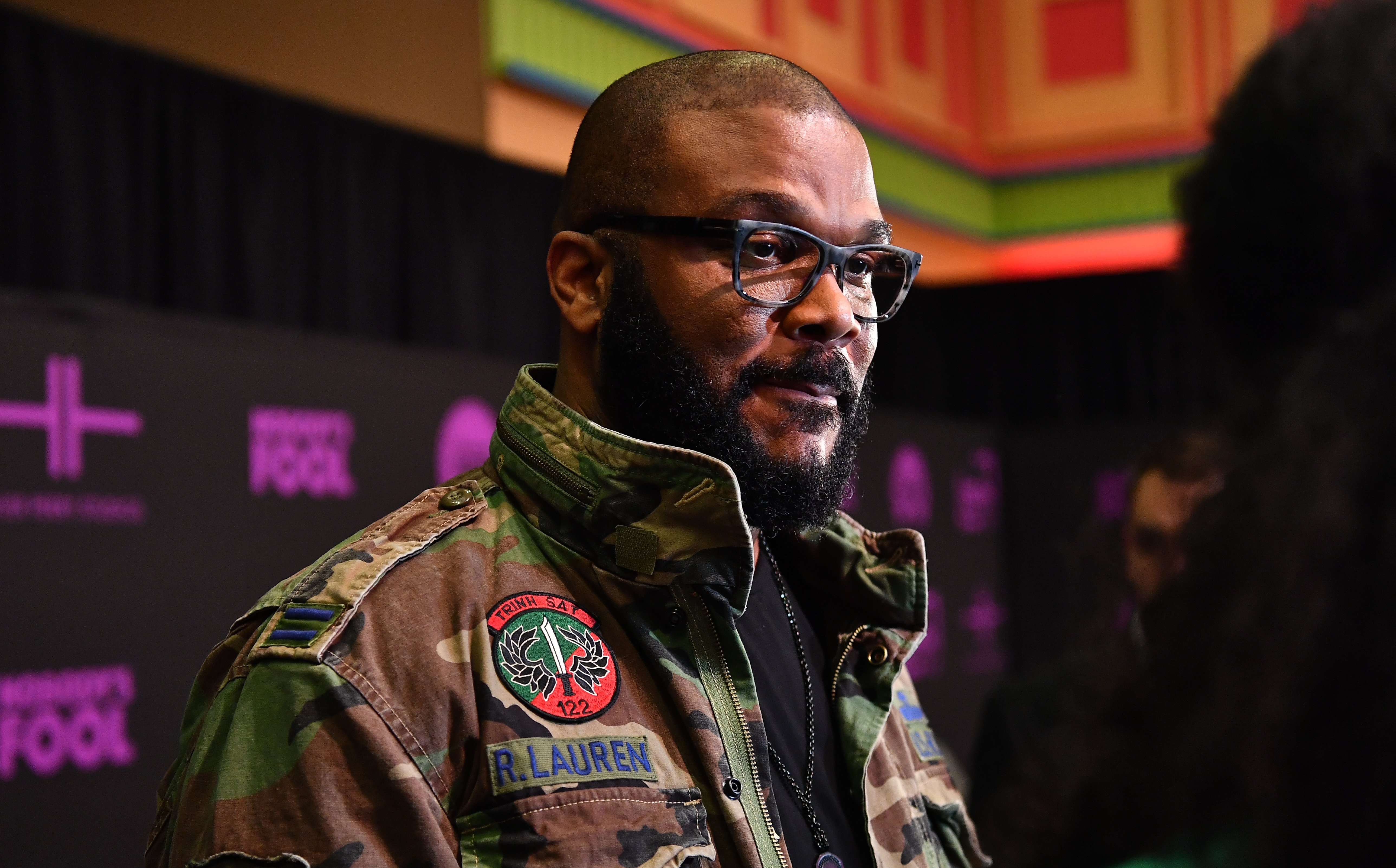 "Tyler Perry attends ""Nobody's Fool"" Atlanta screening on Nov. 1, 2018 