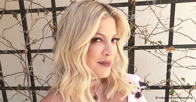 Tori Spelling Pays Warm Birthday Tribute to Late Father Calling Him Her 'Biggest Inspiration'