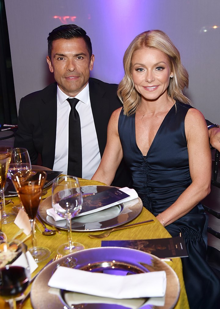 Mark Consuelos and Kelly Ripa. I Photo : Getty Images