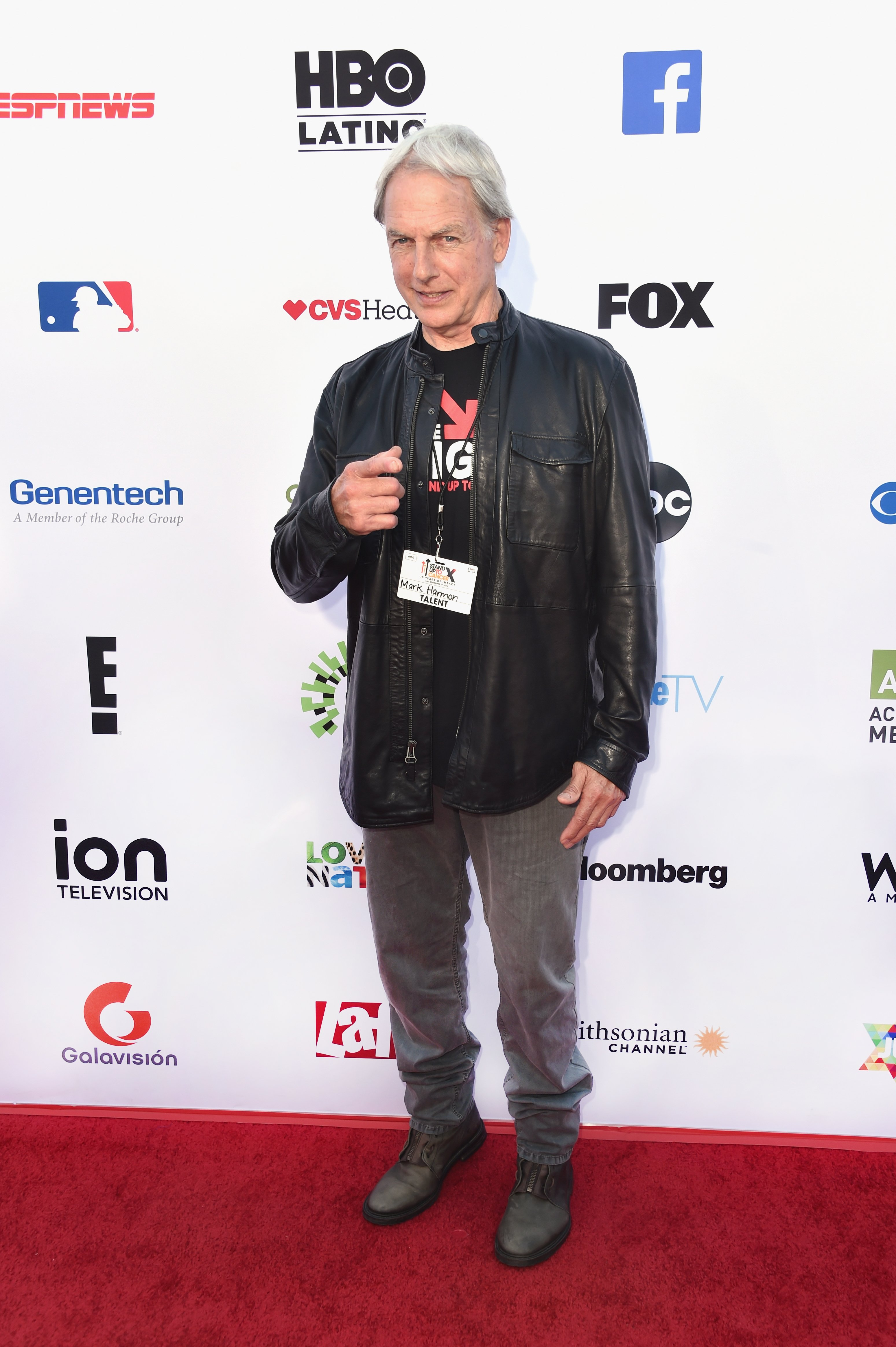 Mark Harmon attends the Stand Up To Cancer telecast in Santa Monica, California on September 7, 2018   Photo: Getty Images