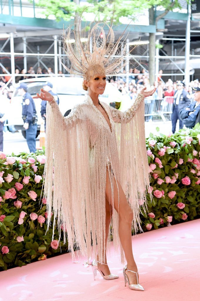 Celine Dion attends The 2019 Met Gala at Metropolitan Museum of Art on May 06, 2019 in New York City. | Source: Getty Images
