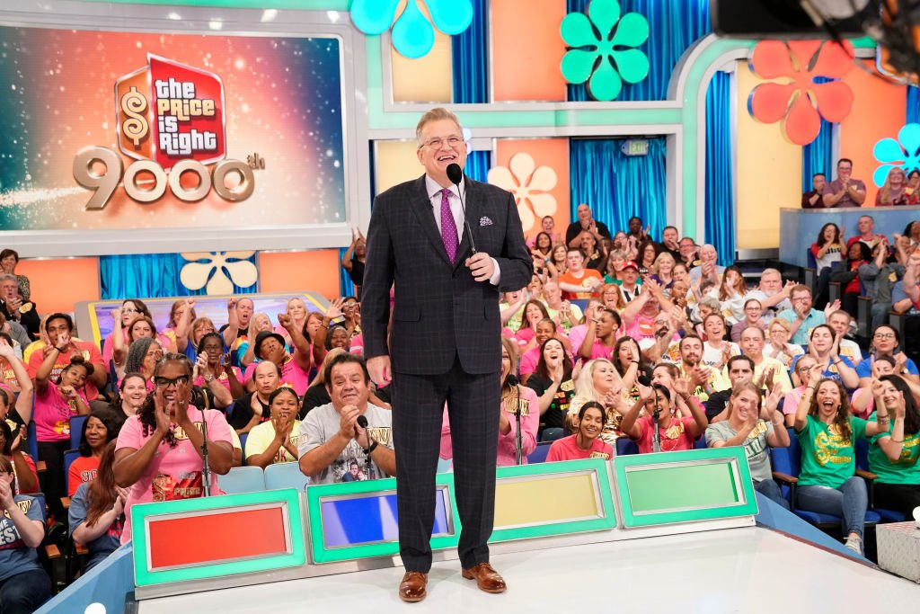 "Drew Carey hosts an episode of ""The Price Is Right"" in Los Angeles, California on October 10, 2019 