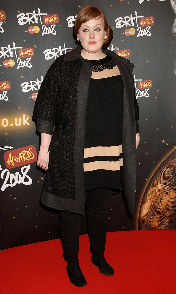Adele at the Brit Awards 2008, at Earls Court 1 on February 20, 2008 in London, England | Photo: Getty Images