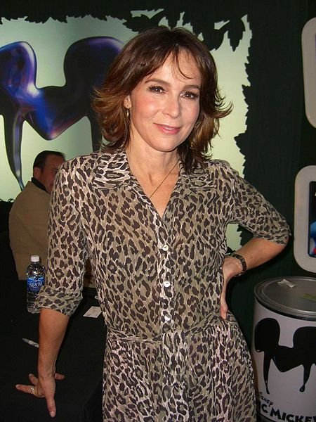 Jennifer Grey, at the November 30, 2010 launch party for the Disney video game Epic Mickey. | Source: Wikimedia Commons