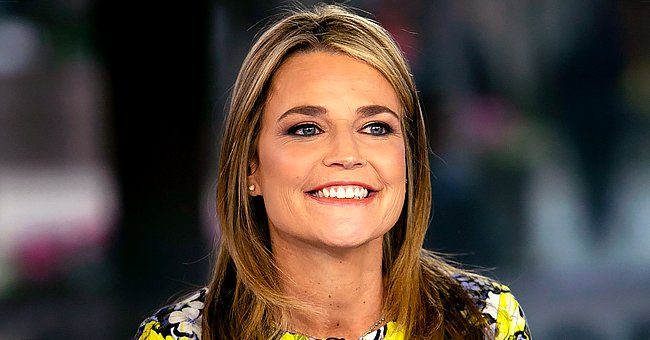 'Today' Host Savannah Guthrie Posts a Cute Throwback Photo from 4 Years Ago Cradling Her Kids